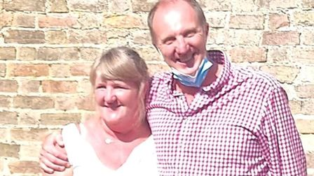 Debbie Lawrence and Thomas Norfolk of St Mary's Dental Practice Ely