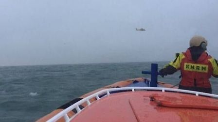 Dutch Coastguard search for a light aircraft on Monday night which crashed off the Netherlands Coast