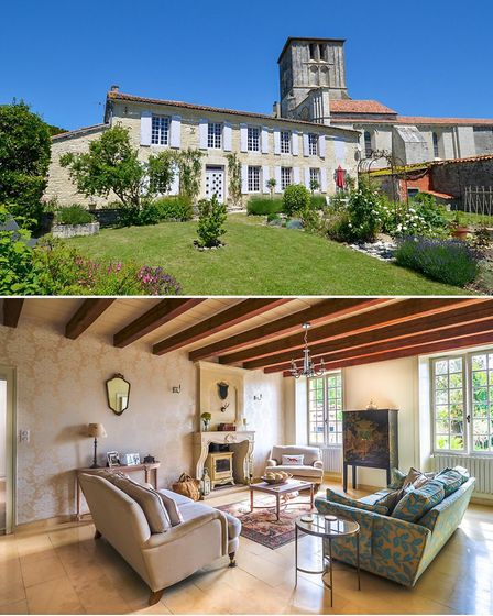 Historic property for sale in Beauvais-sur-Matha Charente with Leggett Immobilier