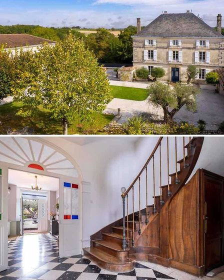 Manor for sale in Charente with Sifex