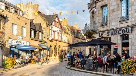 The old centre of Roscoff is full of lovely traditional eateries (c)Getty Images