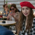 Lily Collins as Emily Cooper in Emily in Paris. Pic: Courtesy of Netflix