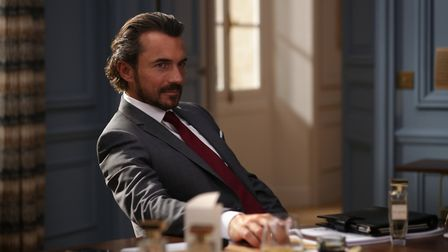 William Abadie plays the head of the French parfumerie. Pic: Carole Bethuel/Netflix