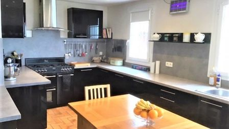 The large kitchen was refit four years ago