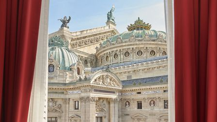 Opera view from InterContinental Paris - Le Grand (c) Eric Cuvillier