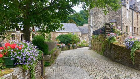 Brittany is full of beautiful cobbled streets (c) Michelle Warren