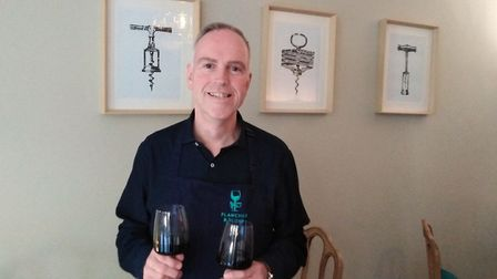 Graham has a French Wine Scholar qualification