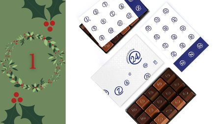 Day 1 - Win a chocolate advent calendar from ZChocolat