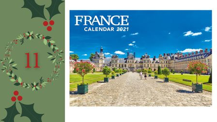 Day 11 - Win a copy of the FRANCE Calendar 2021