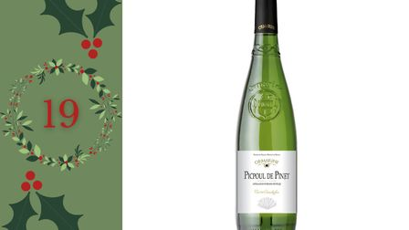 Day 19 - Win two bottles of Ormarine Conchylia Picpoul de Pinet