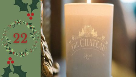 Day 22 - Win a personalised candle from The Château