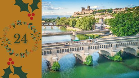Day 24 - Win a gift voucher from French Waterways