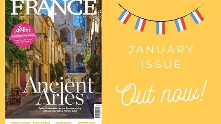 The January 2021 issue of FRANCE Magazine is out now