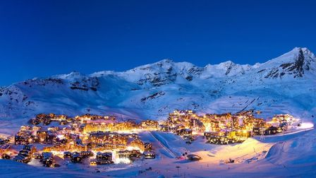 Val Thorens by night (c) T.Loubere/OT Val Thorens