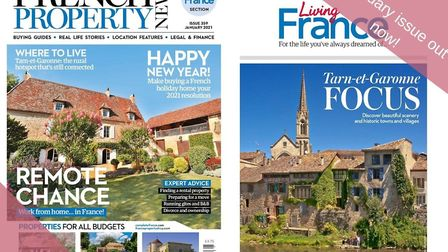 The January issue of French Property News and Living France is out now!