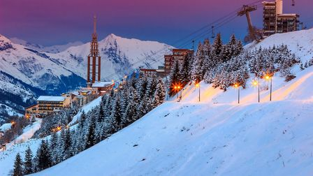 Les Menuires, part of the Trois Vallees. Pic: Janoka82/Getty
