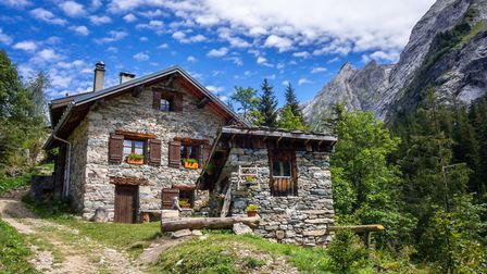 A traditional house in the Vanoise National Park. Pic: daboost/Getty