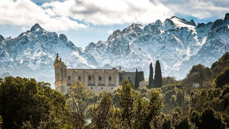 The old convent in Castifao in Corsica. Pic: joningall/Getty