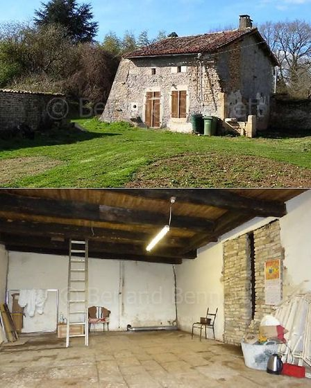 Renovation project cottage in Deux Sevres for sale with Berland Bennett