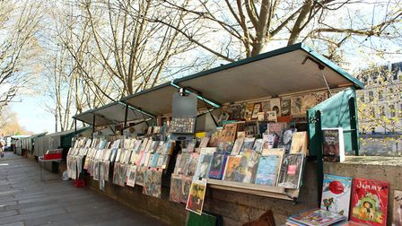 Some inspiration while we can't visit Paris' bouquinistes, or riverside booksellers. Pic: B Coene/Ge