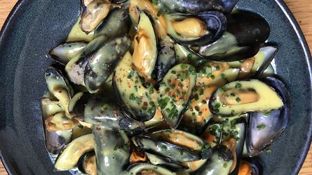 Local speciality mouclade at Chez Remi. Pic: Lara Dunn
