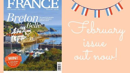 The February 2021 issue of FRANCE Magazine is out now