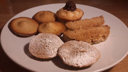 Some of Brigitte's French treats from her cooking class. Pic: Brigitte Nicolas