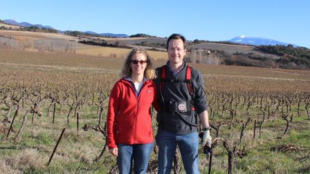 Anna and Wilson Thorburn moved from the south-east of England to a vineyard in Drôme