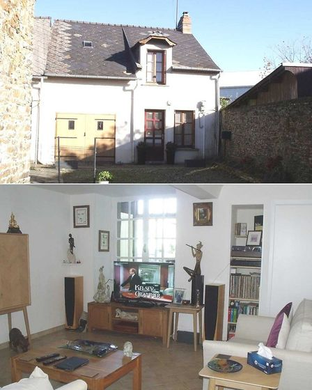 Cottage to renovate in a small Mayenne town on sale with Maison Perfect