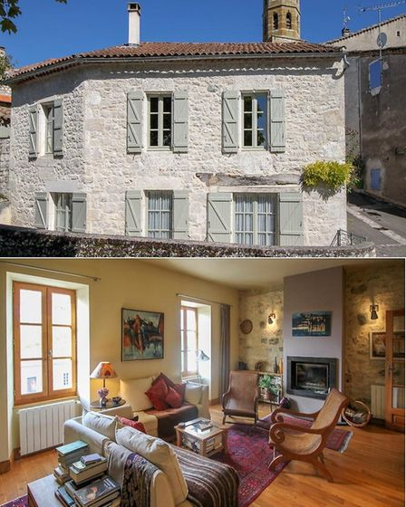 Village house in Montcuq in Lot for sale with Leggett Immobilier