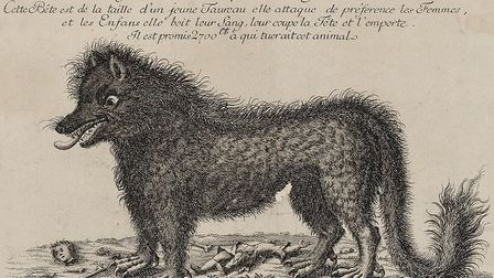 A historic depiction of the monster. Pic: Wikipedia