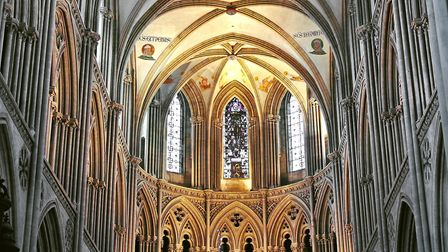 Inside the cathedral (c) NickNick_ko / Getty Images