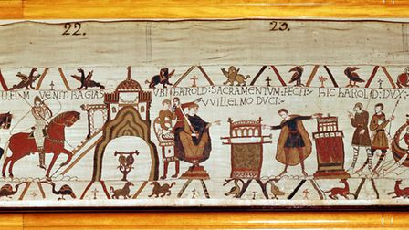 The Bayeux Tapestry (c) Photos.com / Getty Images