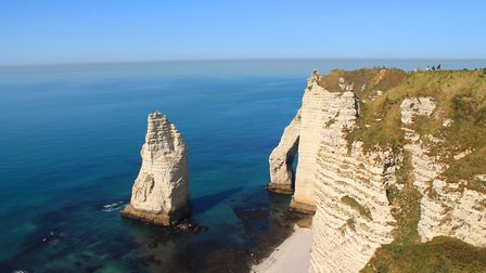 The cliffs in Normandy (c) PictureReflex / Getty Images