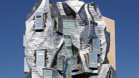 Frank Gehry's striking tower at LUMA Arles. Pic: Ricochet64/Getty