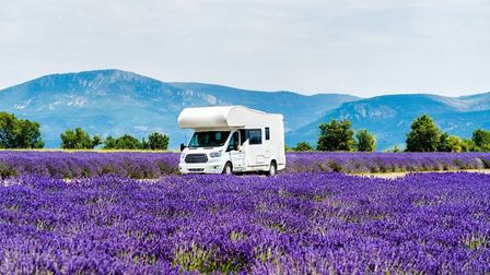 A 'camping car' holiday in blissful Provence. Pic: Leonid Andronov/Getty