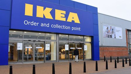 The new Ikea store in Norwich. Picture: Denise Bradley
