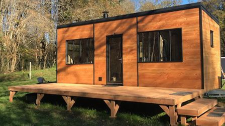 Ecological cabin in Charente on the market with Leggett