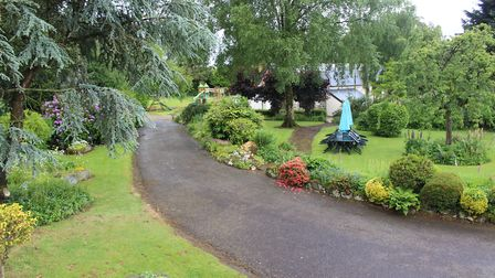 Beautifully landscaped gardens