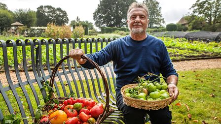 Raymond uses some of his favourite vegetables in the featured recipes © Rock Oyster Media