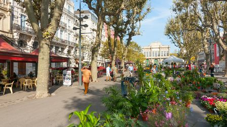 Beziers is a vibrant hub full of shops and eateries (c)Getty Images