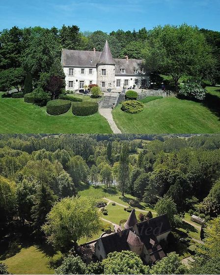 Manoir with lake for sale in Sarthe with Sifex