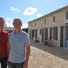 Rob and Steve at Clos Vieux Rochers (c) True North/Channel 4