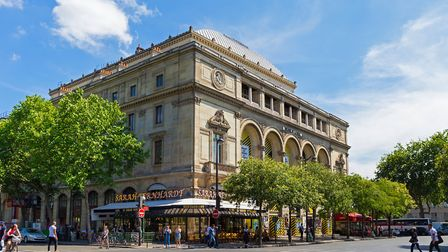 The Theatre de la Ville in Paris, formerly named after Bernhardt. Pic: Kutredig/Getty