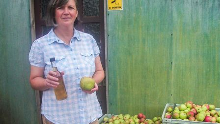 Lorraine Turnbull was a commercial cider-maker in Cornwall before moving to Dordogne