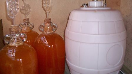 Lorraine's homemade French cider