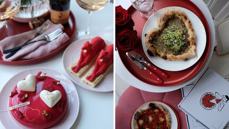 Patisserie and pizza at The Connaught