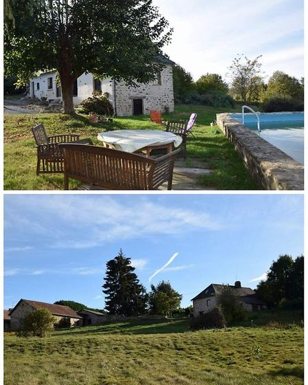 Farmhouse in Corrèze on the market with Limousin Property Agents