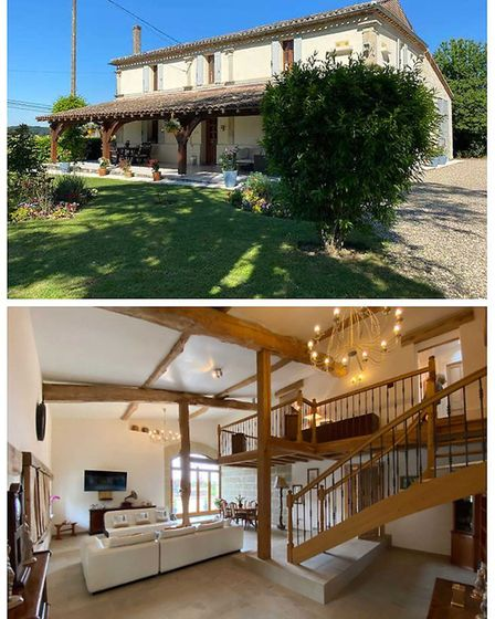 Lot-et-Garonne three-bedroom farmhouse on the market with Richard Immobilier