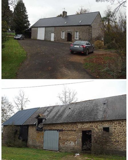 A Normandy farmhouse for renovation on the market with Asiimmobilier